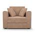 Кресло Мебель-АРС Санта (велюр бежевый - Luna 061) - фото 2