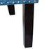 Кресло Garda Decor 24YJ-7004-06466/1 (велюровое синее с подушкой) - фото 4