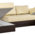 Диван Mebelico Сенатор-П 94 п-образный 59356 экокожа бежевый/коричневый - фото 2