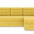Диван ТриЯ правый «Райс Slim Т1» (Maserati 11 (велюр), желтый) - фото 2
