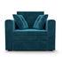 Кресло Мебель-АРС Санта (бархат сине-зеленый) - фото 2