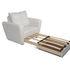 Кресло Мебель-АРС Квартет - экокожа белая - фото 6