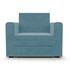 Кресло Мебель-АРС Санта (велюр голубой - Luna 089) - фото 3