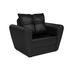 Кресло Мебель-АРС Квартет - экокожа черная - фото 1