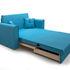 Диван Мебель-АРС Санта (синий) - фото 7
