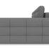 Диван ТриЯ правый «Райс Slim Т2» (Neo 07 (рогожка) светло-серый) - фото 3