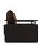 Кресло Мебель-АРС Шарм - шоколад (микровелюр + экокожа) - фото 3
