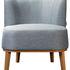 Кресло R-Home Шафран RST_4000105_Gray, серый - фото 1