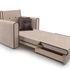 Кресло Мебель-АРС Санта (кордрой бежевый) - фото 8