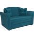 Диван Мебель-АРС Малютка №2 (бархат сине-зеленый  STAR VELVET 43 BLACK GREEN) - фото 1