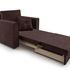 Кресло Мебель-АРС Санта (велюр шоколадный) - фото 8