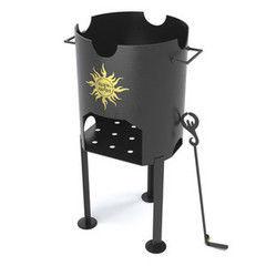 Печь Царь-печи под казан 12л (сталь 8 мм)
