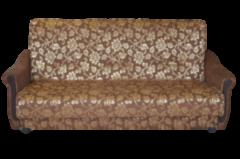 Диван Двухместный диван ПромТрейдинг Уют 2 гобелен коричневый 120 ППУ