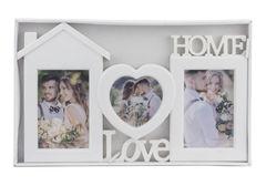 """Фоторамка Фоторамка Market Union Фоторамка-коллаж """"Love. Home"""" 23x26 см"""