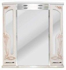 Мебель для ванной комнаты Атолл Шкаф зеркальный Барселона-195