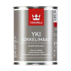 Краска Краска Tikkurila Yki для цоколя (базис C, 0.9 л)