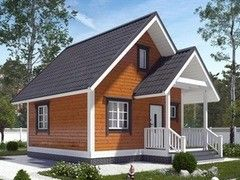 Каркасный дом Каркасный дом ИП Сопин А.В. Пример 12