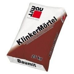 Сухая кладочная смесь Сухая кладочная смесь Baumit KlinkerMortel