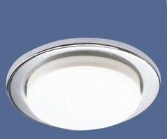 Встраиваемый светильник Elektrostandard Ecola 1035 GX53 CH