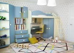 Детская комната Детская комната Горизонт Радуга Василек