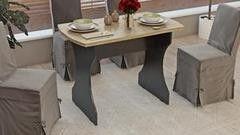 Обеденный стол Обеденный стол ТриЯ Турин 3 на деревянных ножках