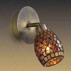 Настенно-потолочный светильник Odeon Light Glosse 2167/1W