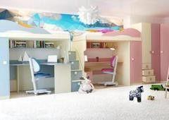 Детская комната Детская комната Горизонт Радуга Смешанная