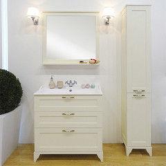 Мебель для ванной комнаты Акватон Тумба-умывальник Леон 80 Н (1A187801LBPR0) дуб бежевый