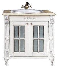 Мебель для ванной комнаты Атолл Тумба Александрия 85 (слоновая кость)