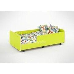 Детская кровать Детская кровать Легенда 24 (лайм)
