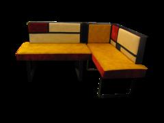 Кухонный уголок, диван Виктория Мебель Клер СК 2110
