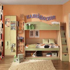 Детская комната Детская комната Глазовская мебельная фабрика Калейдоскоп 06