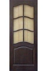 Межкомнатная дверь Межкомнатная дверь Поставский мебельный центр модель 7 ДО темный лак
