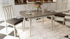 Обеденный стол Обеденный стол ТриЯ Альт 3 раздвижной на деревянных ножках
