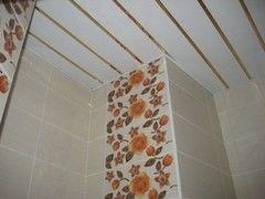 Подвесной потолок Подвесной потолок Албес Для ванной комнаты