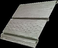Софит Ю-пласт Timberblock Дуб серебристый с частичной перфорацией