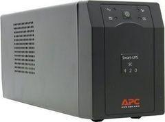 Источник бесперебойного питания Источник бесперебойного питания Schneider Electric APC Smart-UPS SC 420ВА (SC420I)