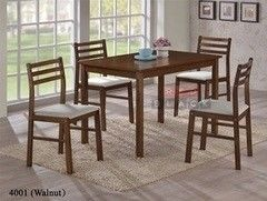 Обеденный стол Обеденный стол Red&Black 4001 Орех