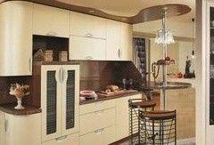 Кухня Кухня на заказ ЗОВ Фасад Модена желтый лен
