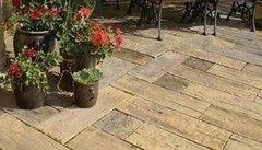 Тротуарная плитка Тротуарная плитка BRUK-BET Drewno ogrodowe Altus Kopyto 225x225 mm