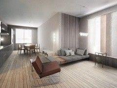 Дизайн гостиной ХоумСистемс Проект 6