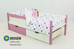 Детская кровать Детская кровать Бельмарко Skogen лаванда-белый