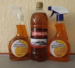 Очиститель Калинковичский завод бытовой химии Преобразователь ржавчины Цинкарь ПРЦ М-2 (1000мл)