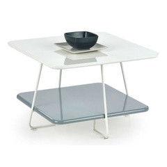 Журнальный столик Halmar Melody (белый/ серый)