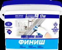 Шпатлевка Шпатлевка Тайфун-Мастер Финиш (17 кг)