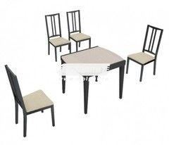 Обеденный стол Обеденный стол СтолПлит Танго Т1 + Этюд Т4