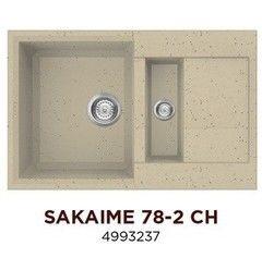 Мойка для кухни Мойка для кухни Omoikiri Sakaime 78-2-CH (4993237)