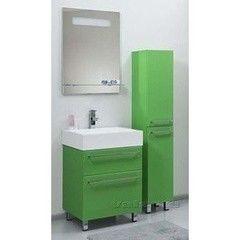 Зеленая мебель для ванной Valente Тумба высокая Severita S48