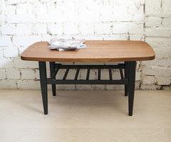 Журнальный столик Драўляная майстэрня из массива дуба Cinnamon Brown