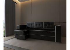 Диван Диван Настоящая мебель Константин Орландо угловой черный